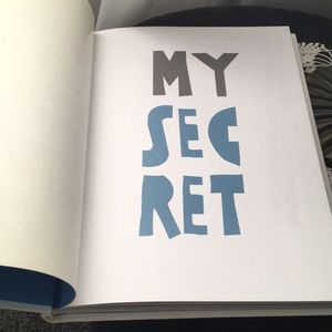 Accents - Post Secret Coffee Table Book - My Secret